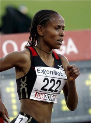 Meseret Defar surgió del semillero deportivo de las montañas etíopes de Addis Adeba, cuna del plusmarquista Kenenisa Bekele