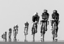 drafting triatlon blanco y negro 1