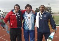 Germán Lauro ganó el oro sudamericano