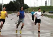 atletismo pista mar del plata lluvia 1