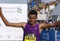 abera maraton running