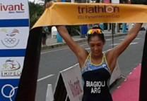 biagioli triatlon llegada 1