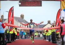 mo farah running 21k maraton race 1