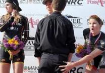 rowney tocada podio