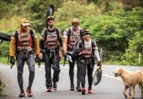 perro equipo aventura