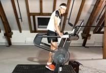kiyburz record runing treadmill cinta correr gimnasio