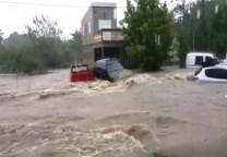 la paz inundacion