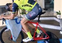 nibali coronavirus covid-19 bicicleta fija spinning