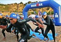 ironman 70.3 pucon triatlon triathlon swim natacion