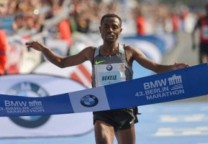 bekele maraton running 1