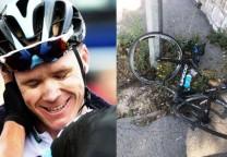 froome bicicleta rota