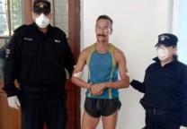 runner detenido covid-19 coronavirus