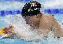 pilato natacion swim record estilo pecho