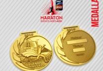 medalla 42K maraton buenos aires 2019
