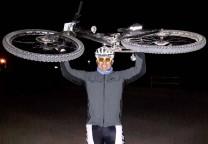 balboa noche bicicleta