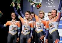 ciclismo femenino festejos
