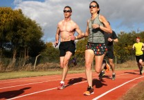 running entrenamiento pista 1