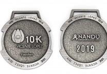medallas 10K vicente lopez