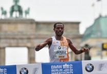 bekele maraton berlin running record