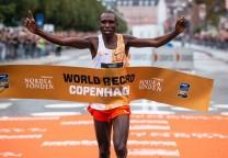 kamworor record running 21 maraton
