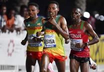 desisa maratón running 42K
