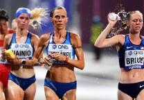 maraton mujeres calor 42k running