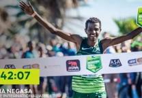 running record 50k marathon maraton