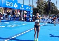 marcela gomez maraton marathon running 42k record