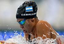 ceballos natacion swim record